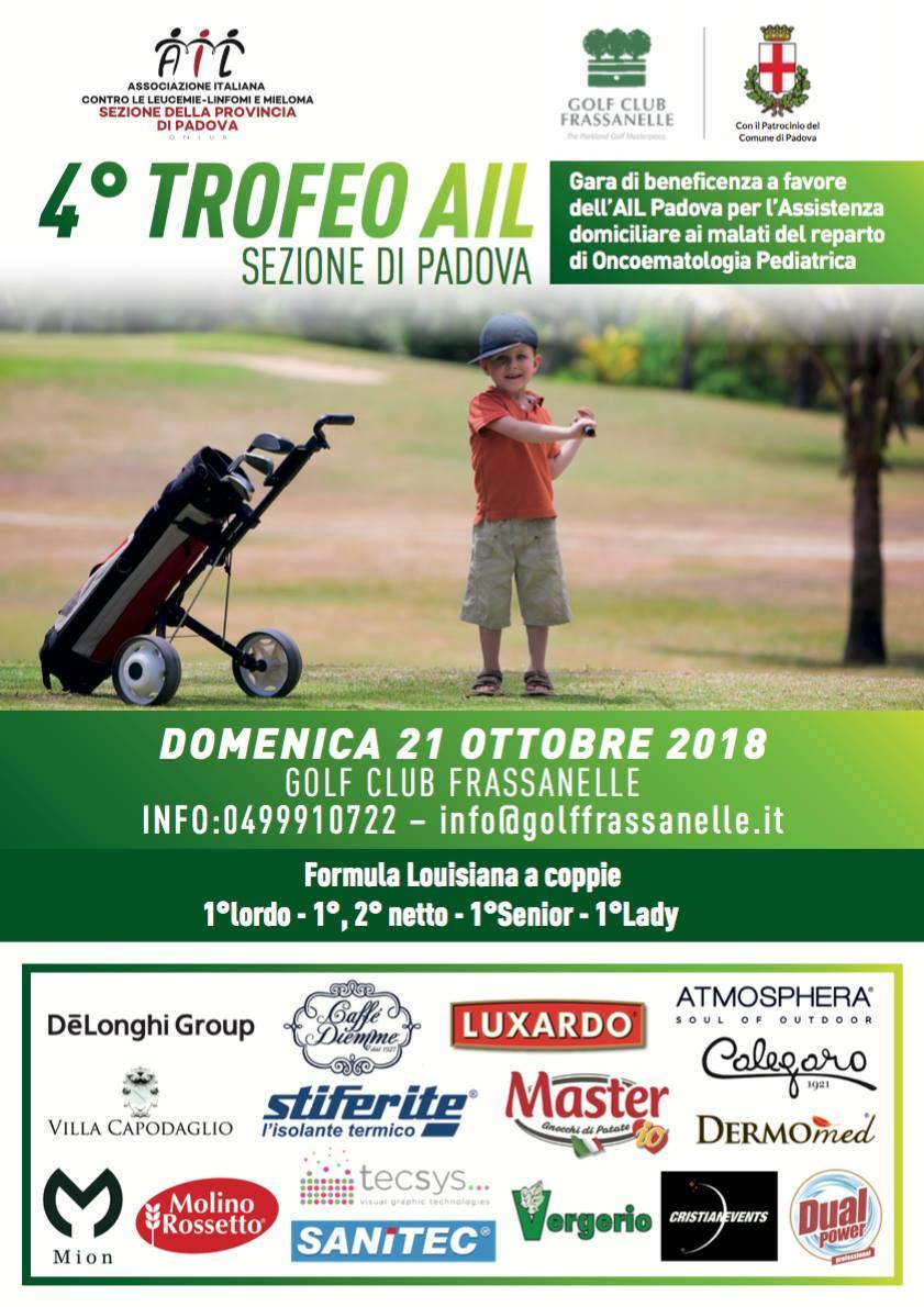 4° Trofeo AIL sezione Padova - Argenteria Calegaro - Argenti e Silverware